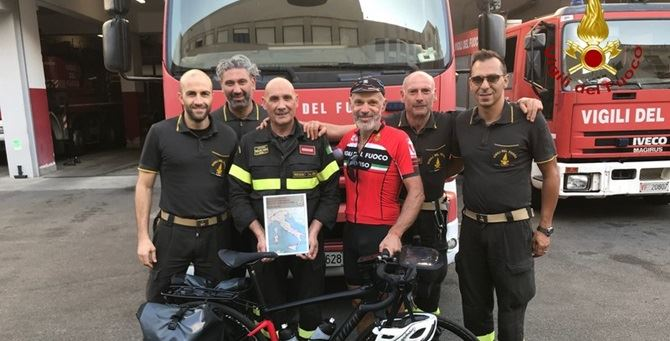 Flavio Mariotto con i colleghi