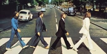 La copertina dell'album 'Abbey Road'