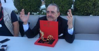 Realizzati dal maestro orafo Spadafora, consegnati i premi Starlight a Venezia