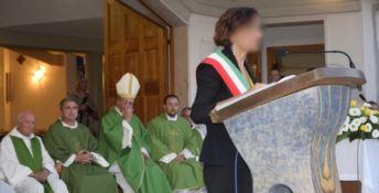Non è raro vedere un sindaco parlare dal pulpito di una chiesa
