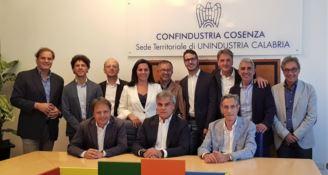 Confindustria Cosenza, tutto pronto per l'insediamento di Amarelli