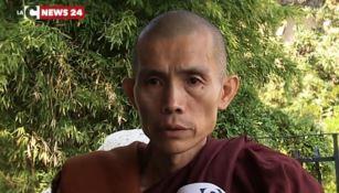 Il maestro buddista Sayadaw Ottamathara