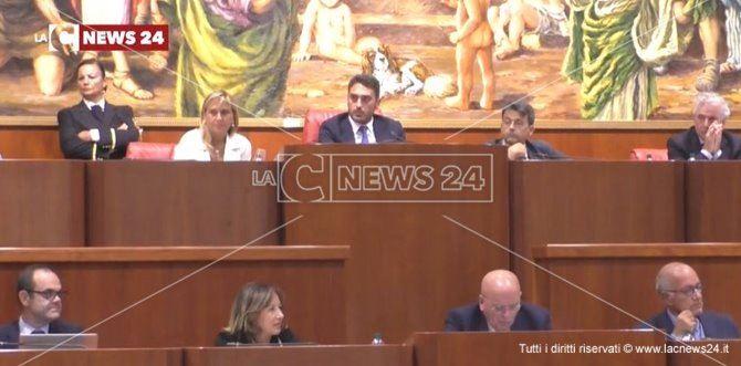 La seduta di ieri del Consiglio regionale
