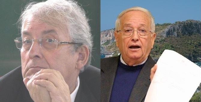 A sinistra Ernesto Magorno, a destra Antonio Praticò