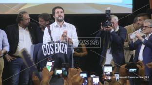 Regionali, Salvini: «A casa Oliverio e la sinistra». E ignora Occhiuto: «Vogliamo un nome nuovo»
