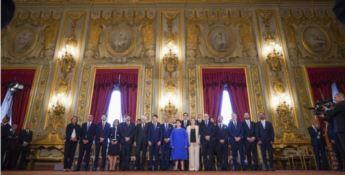 Conte bis, i ministri giurano al Quirinale al cospetto di Mattarella