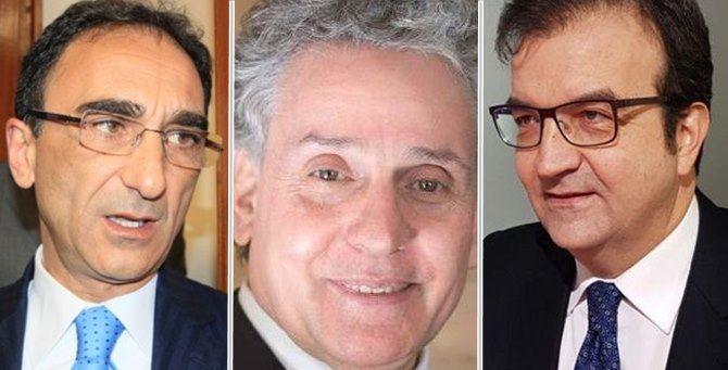 Sergio Abramo, Enzo Ciconte e Mario Occhiuto