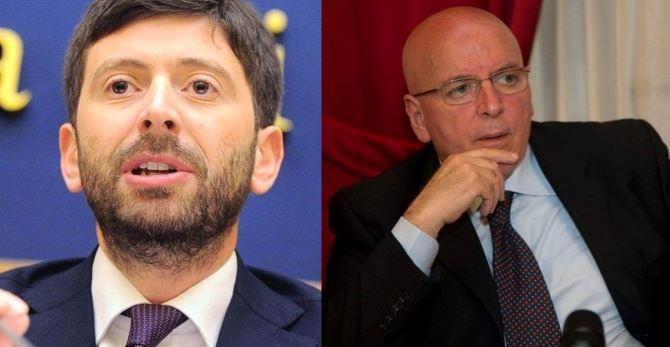 Il ministro Speranza e il presidente Oliverio
