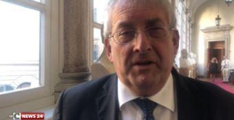 Il sindaco Magorno