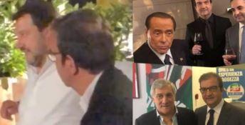 Occhiuto con Salvini, Berlusconi e Tajani