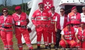 Monasterace, donato un defibrillatore  all'Ordine di Malta