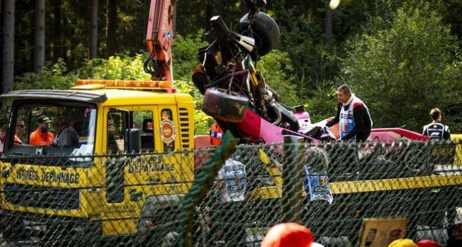 Incidente mortale al Gp, foto Ansa