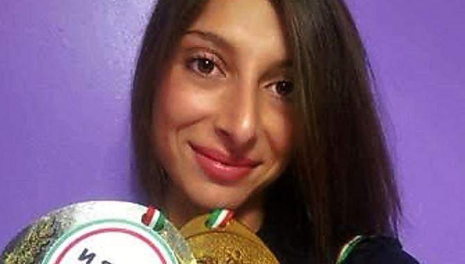 L'atleta Rosa Schettino