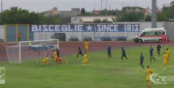 Per il Catanzaro occasione sprecata a Bisceglie, finisce 1-1