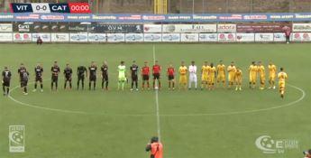 Il Catanzaro scivola sul prato di Viterbo e perde 2-1