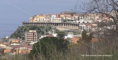 Uno scorcio della città di San Lucido