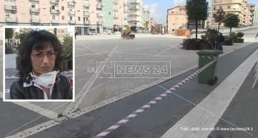 Piazza Bilotti, l'ingegnere: «Siamo stati fortunati, resta rischio crollo con i concerti»