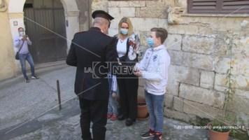 Cosenza, le uova di Pasqua dei carabinieri ai bambini della provincia
