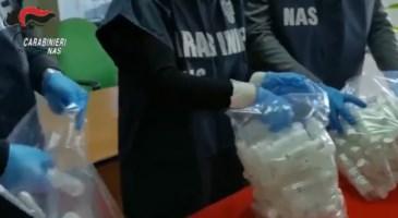Sequestrate oltre 1500 confezioni di igienizzante a Reggio Calabria