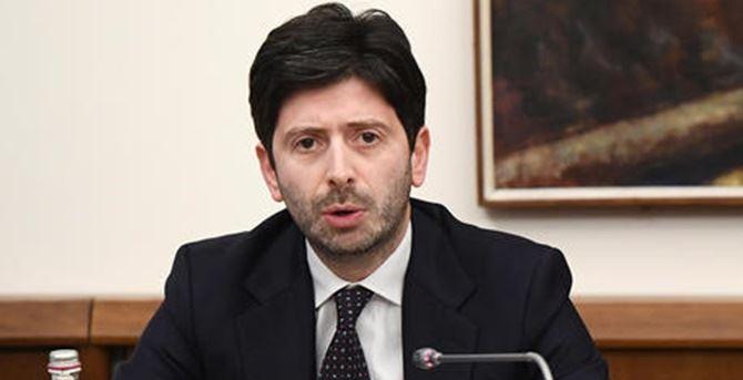 Il ministro Speranza (foto ansa)