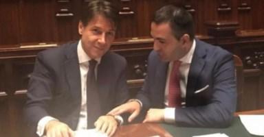 Giuseppe Conte e Francesco Cannizzaro