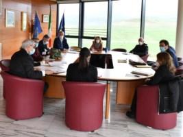 La riunione della giunta regionale