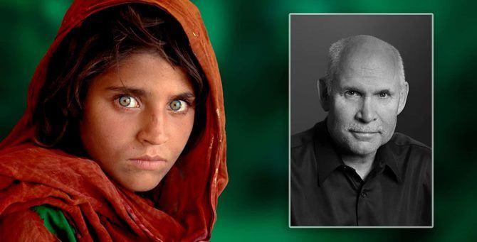 Ragazza afgana, la celebre foto di Steve McCurry