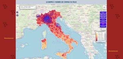Coronavirus, sulla nostra pagina dedicata la mappa interattiva dei contagi