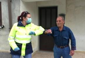 Locride, il lavoro del postino al tempo del Coronavirus