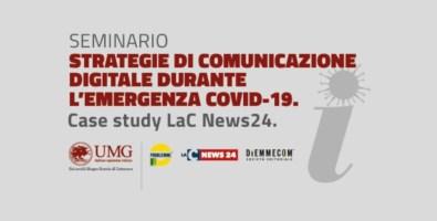 LaC News24 case study all'Università Magna Graecia: seminario sulla comunicazione Covid