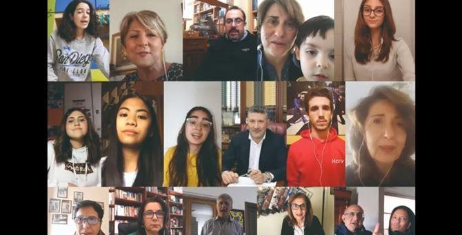 Il coro virtuale del liceo Gullì di Reggio Calabria