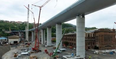 Il viadotto ricostruito (foto Salini Impregilo)