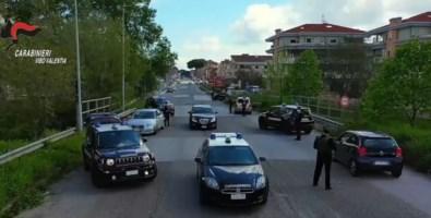 Vibonese, controlli dei carabinieri durante il fine settimana (VIDEO)