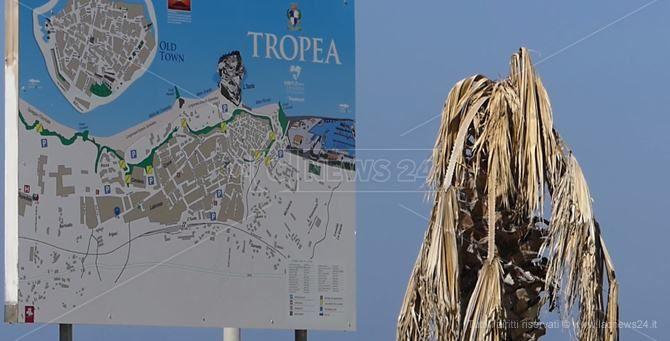 Una mappa di Tropea