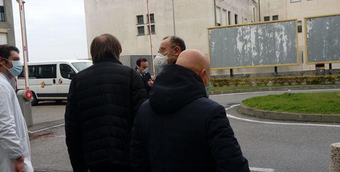 Il viceministro Sileri con il commissario Cotticelli