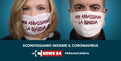 #AttentaCalabria, non abbassare la guardia. Continua la campagna di sensibilizzazione sul Covid-19