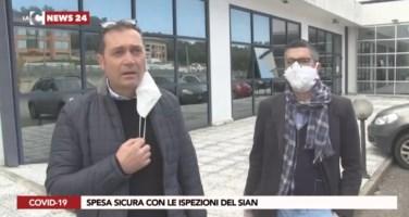 Coronavirus, ispettori dell'Asp di Reggio al lavoro: ecco come controllano i supermercati