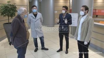 Coronavirus, dalla Cina 100mila mascherine per i medici cosentini