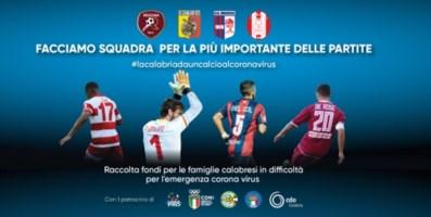La Serie C in campo contro il Covid, già centinaia le donazione ricevute