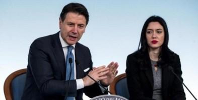 Il premier Conte e il ministro Azzolina