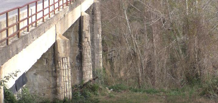 Il ponte tra Oppido e Messignadi