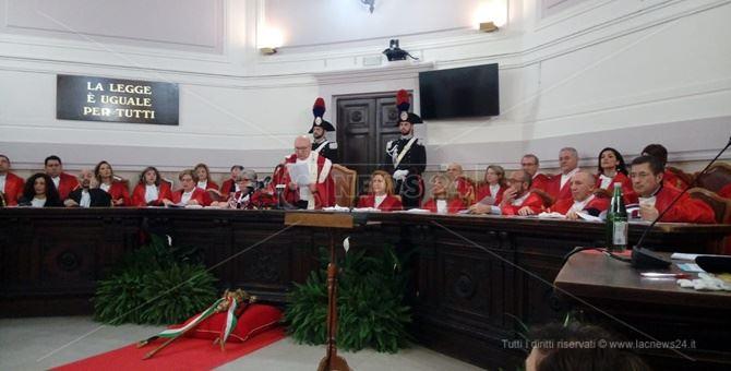 L'inaugurazione dell'Anno giudiziario a Catanzaro