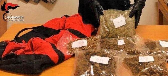 Droga sequestrata a Reggio