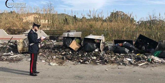 I rifiuti bruciati