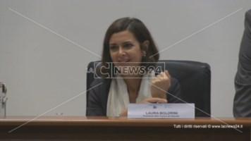 Minacce di morte, la Boldrini in aula a Cosenza contro il suo hater