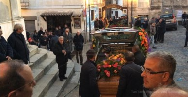 I funerali di Roberto Lucano