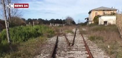 Linea ferroviaria dismessa nella Piana di Gioia Tauro