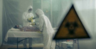 Paziente in isolamento, immagine di repertorio