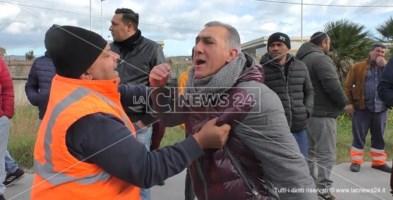 Catanzaro, manifestazione contro il degrado a viale Isonzo: rissa sfiorata