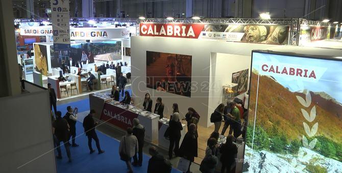 Lo stand della Regione Calabria alla Bit di Milano